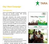 City I want Campaign